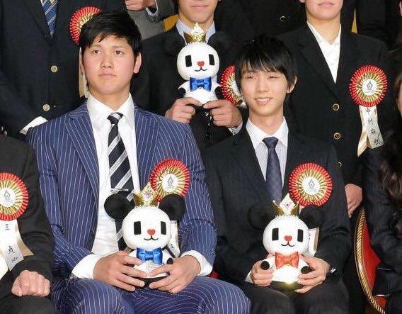 羽生結弦×大谷翔平 ビッグスポーツ賞