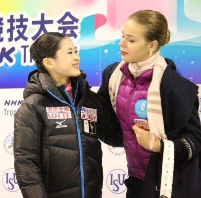 宮原知子×ポゴリラヤ  NHK杯
