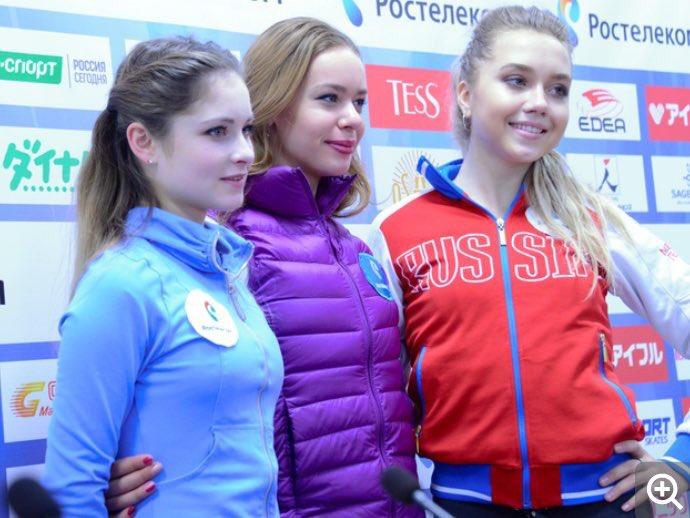 ポゴリラヤ×リプニツカヤ×ラジオノワ ロシア女子SP