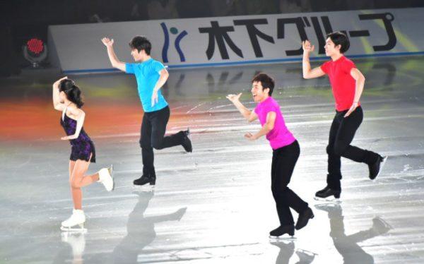 宮原知子×宇野昌磨×織田信成×田中刑事 恋ダンス SOI