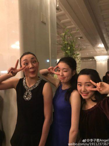 本郷理華×樋口新葉×ジジュン・リー 四大陸バンケット