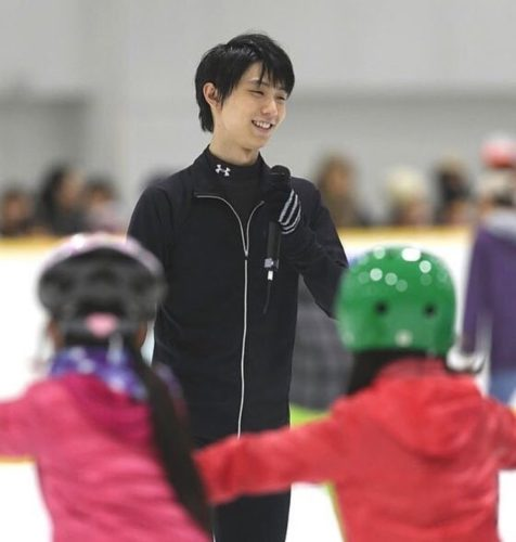 羽生結弦 真夏の氷上カーニバル スケート教室