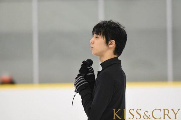 羽生結弦 kiss&cry 真夏の氷上カーニバル スケート教室
