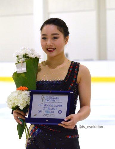 樋口新葉 ロンバルディア杯 表彰