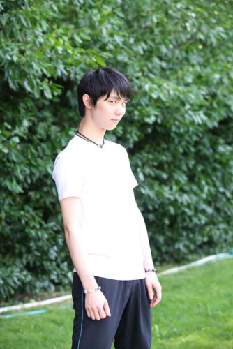 羽生結弦 公開練習 クリケットクラブ BBマガジン社 白Tシャツ3