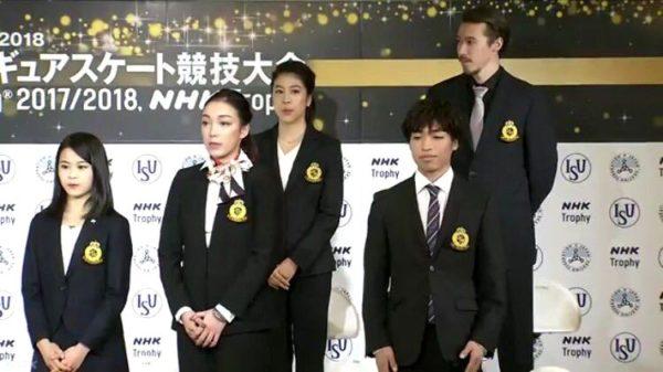 宮原知子×本郷理華×かなクリ×佐藤 NHK杯 会見