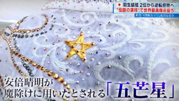 羽生結弦 FS SEIMEI ロステレ杯 衣装の進化