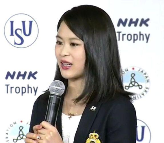 宮原知子 NHK杯 会見