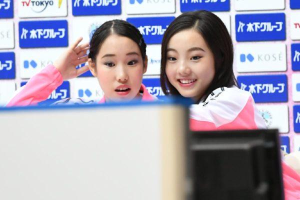 三原舞依×本田真凛 ジャパンオープン キスクラ