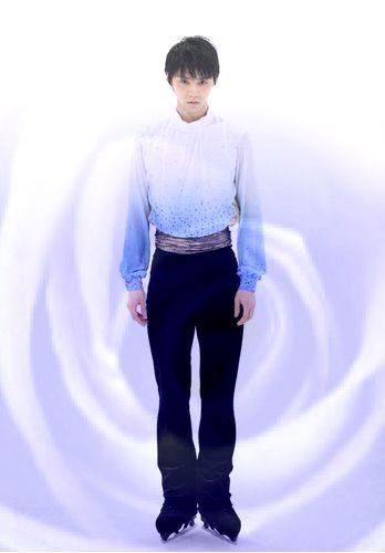 羽生結弦 バラ1 Blue Rose オータムクラシック
