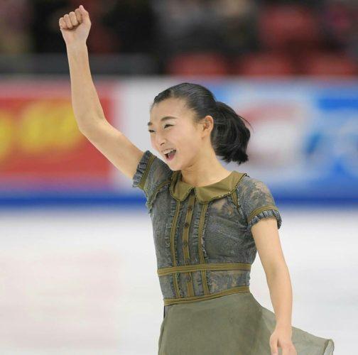 坂本花織 FSアメリ スケートアメリカ