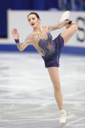ツルスカヤ SP NHK杯