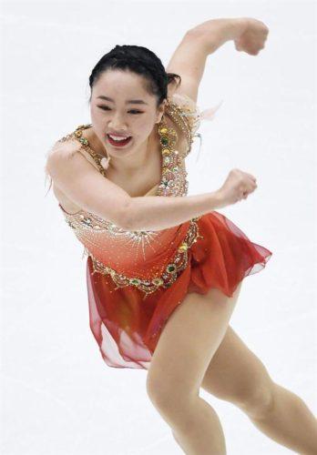 樋口新葉 SP 中国杯