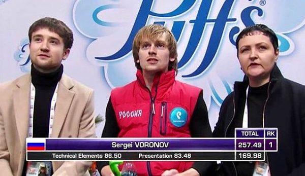 ボロノフ×ミーシャ FSスケートアメリカ