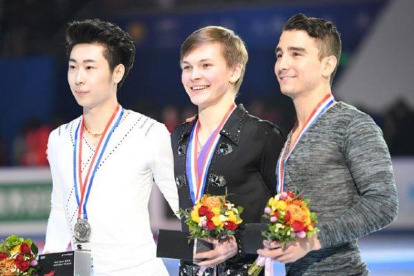 中国杯 男子FS表彰