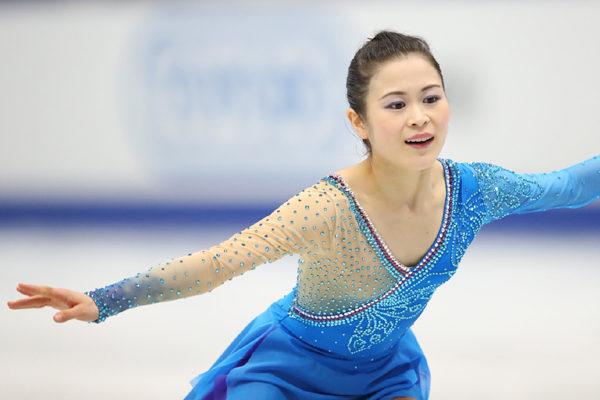 宮原知子 FS蝶々夫人 NHK杯