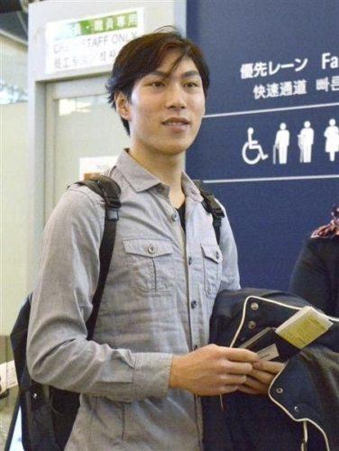 田中刑事 中国杯 出発