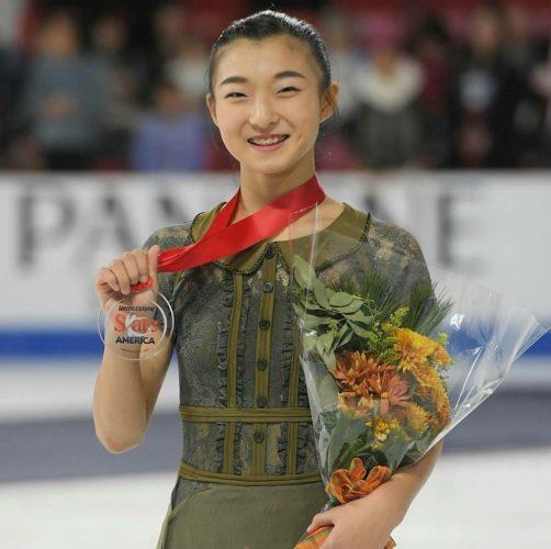 坂本花織 FSアメリ スケートアメリカ表彰
