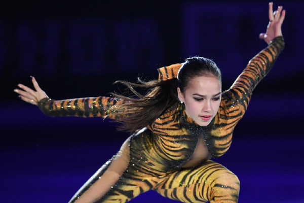 ザギトワ EX 中国杯