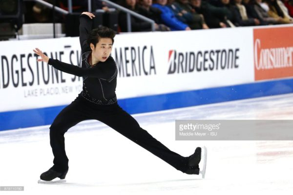 ボーヤン SP スケートアメリカ