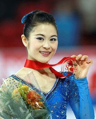 宮原知子 FS蝶々夫人 スケートアメリカ表彰