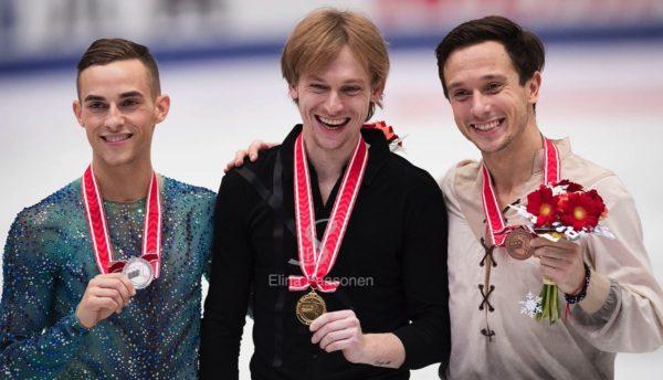 NHK杯 男子 表彰