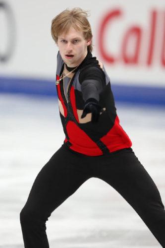ボロノフ SP NHK杯