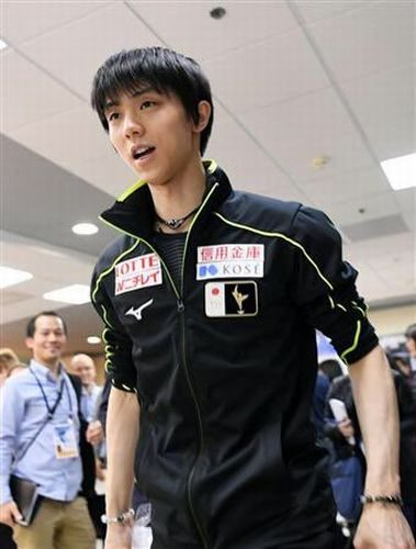 羽生結弦 ロステレ杯 JAPANジャージ