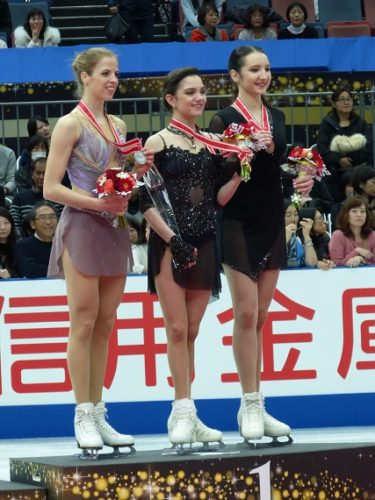 NHK杯 女子 表彰
