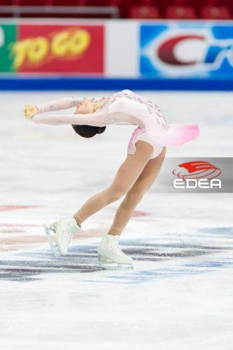 宮原知子 SAYURI SP スケートアメリカ練習