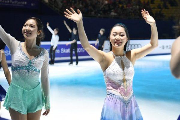 樋口新葉 EXフィナーレ 中国杯