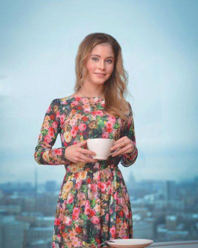 リプニツカヤ コーヒーCM