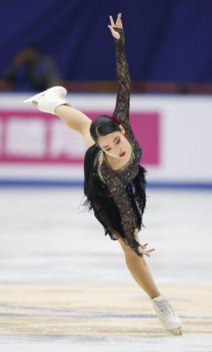 三原舞依 SP 中国杯