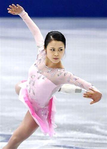 宮原知子 NHK杯 練習