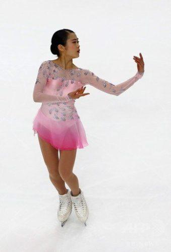 宮原知子 SAYURI SP スケートアメリカ