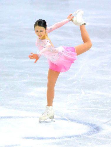 宮原知子 SAYURI SP NHK杯