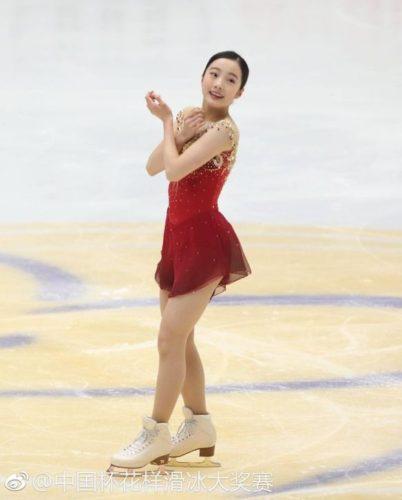 本田真凛 FSトゥーランドット 中国杯0