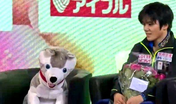 宇野昌磨 FSトゥーランドット フランス キスクラ わんこコーチ