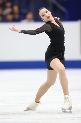 ポリーナ・ツルスカヤ FS NHK杯