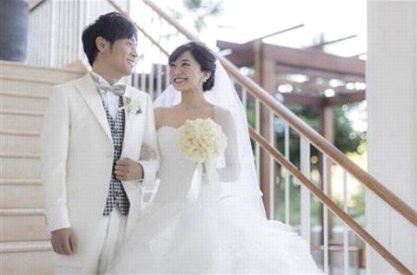 陣内智則×松村未央 結婚式