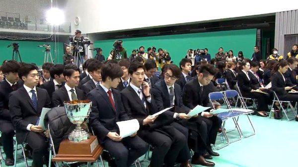 宇野昌磨×田中刑事 全日本 滑走順抽選会0