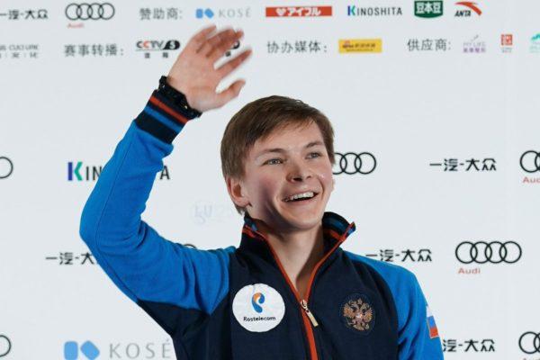 ミハイル・コリヤダ FS 中国杯