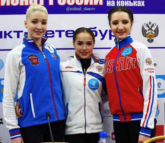 ザギトワ×マリア・ソツコワ×ツルスカヤ SPプレカン ロシアナショナル
