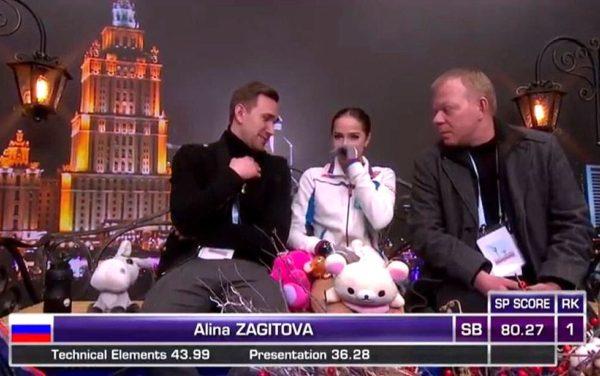 ザギトワ SPブラックスワン ユーロ キスクラ