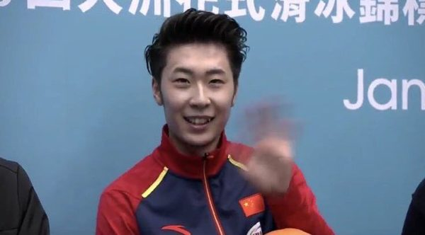 ボーヤン・ジン FS四大陸キスクラ