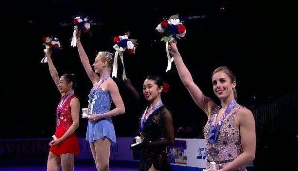 全米女子 表彰