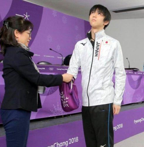 羽生結弦 平昌オリンピック SP滑走順抽選会