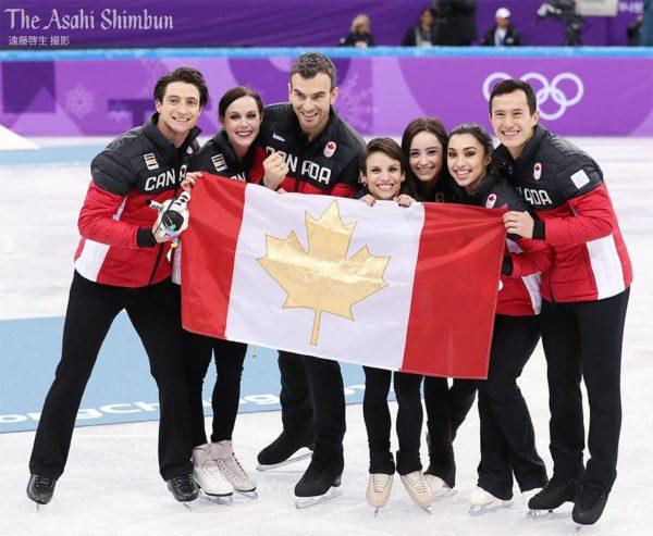 カナダ団体戦 平昌オリンピック